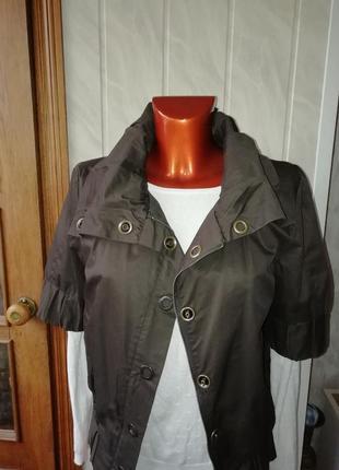 Стильная куртка, 100%коттон