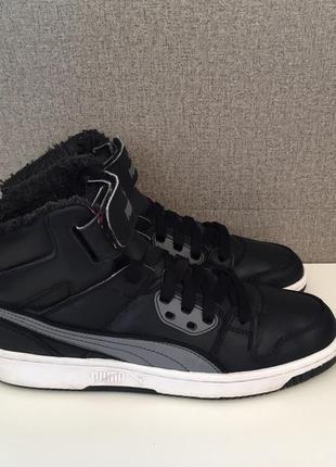 Чоловічі черевики puma rebound street fur мужские ботинки сапоги