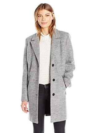 Теплое шерстяное пальто debenhams, размер 48-50