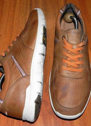 Rockport! кожа! оригинальные, стильные, легкие туфли спортивного стиля