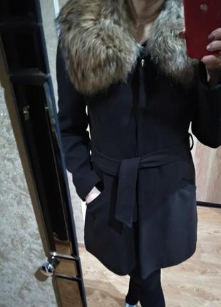 Пальто женское натуральный кашемир