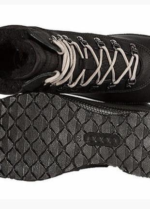 Теплющие ботинки ecco