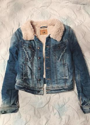 Шикарная куртка, джинсовая зимняя куртка