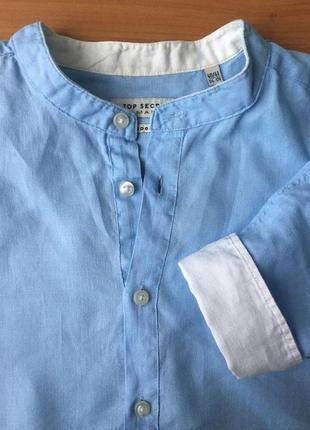 Рубашка льняная top secret