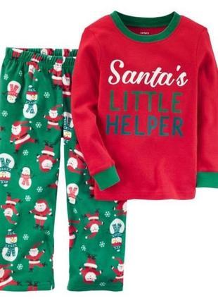Акция новогодняя пижама carter's