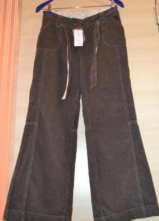 Вельветовые штаны mothercare новые