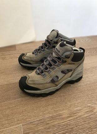 Кожаные зимние ботинки meindl gore-tex vibram 39р 25,5 см
