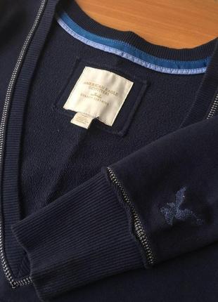 Пуловер  синий american eagle