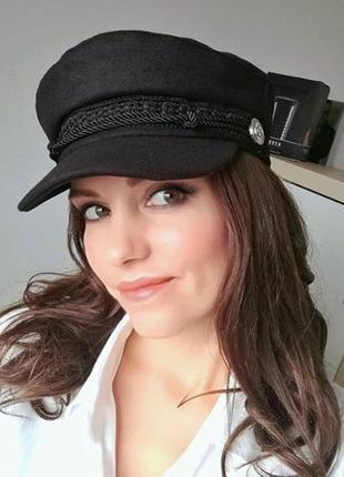 Акция! супер цена! стильная женская кепи, кепка, картуз, капитанка