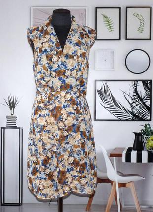 Платье легкой в цветочный принт