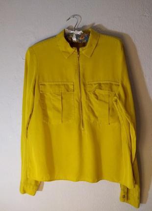 Жёлтая рубашка фирмы marks&spenceотаr collection