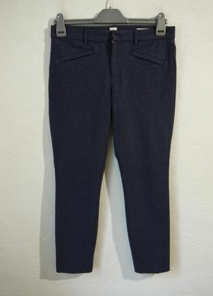 Плотные стрейчевые укороченые брюки качество!!!
