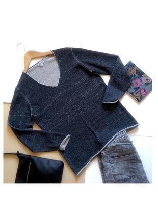Серый свитер