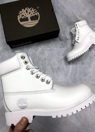 Белые женские ботинки timberland разные размеры в наличии