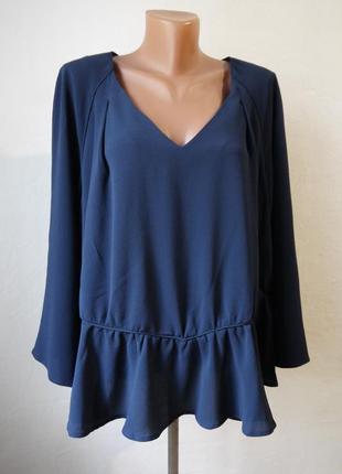 Стильная блуза свободного кроя