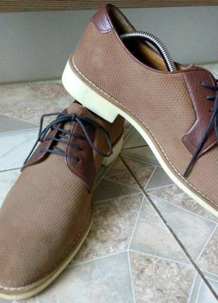 Фирменные мужские туфли esprit