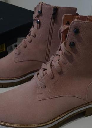 Ботинки pier one кожа