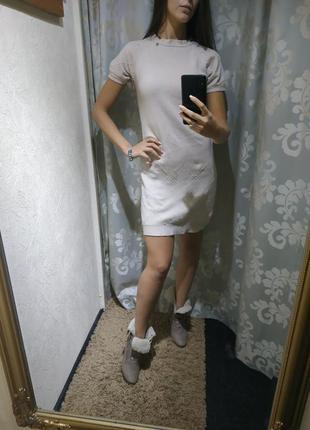 Теплое платье elisabetta franchi оригинал