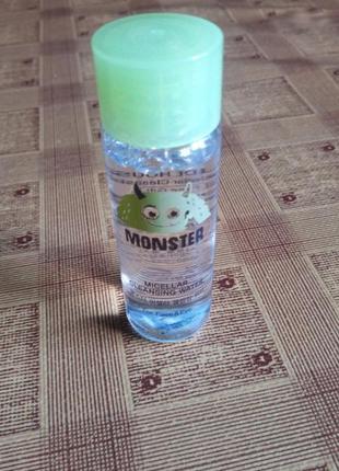 Мицелярная вода etude house monster cleansing