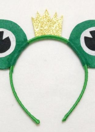 Обруч к карнавальному костюму царевна лягушка