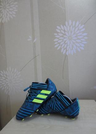 Футбольные бутсы adidas nemeziz 17.3, оригинал, р.38