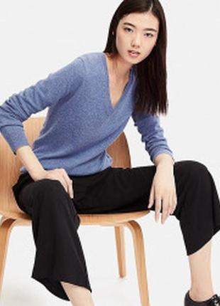 Кашемировый свитер uniqlo