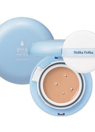 Кушон сс-крем holika holika water drop cc pact cushion spf50 +
