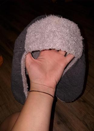 Стильная шапка ушанка