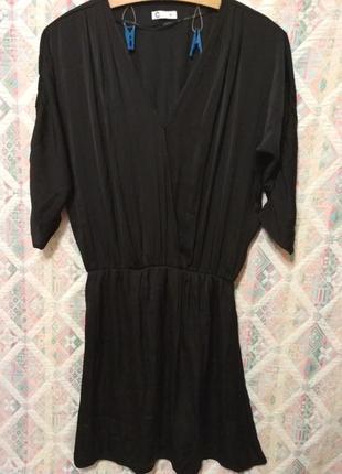 Красивое черное платье xs/s