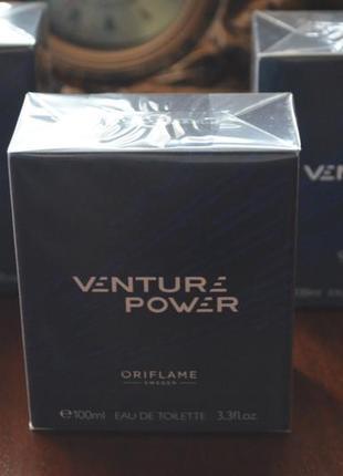 Туалетная вода venture power
