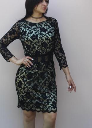 Платье с открытой спинкой little misterss