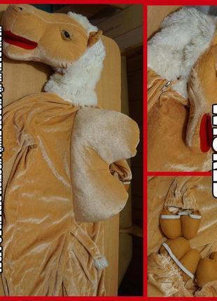 Wicked карнавальный ( новогодний ) костюм верблюд 3-4 года