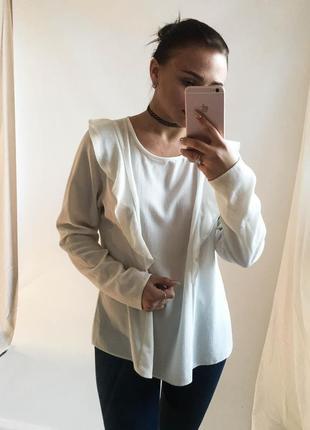 Белоснежная блуза new look