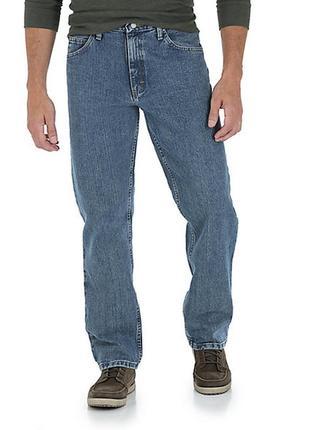 Акция 1+1=3 стильные мужские фирменные джинсы wrangler original, размер s