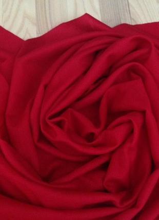 🌷роскошный красный шарф шаль кашемир