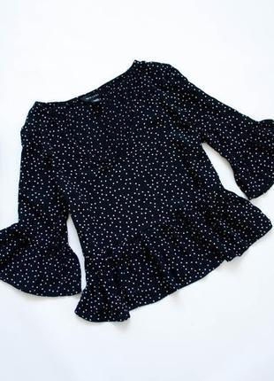 Блуза в горошек new look