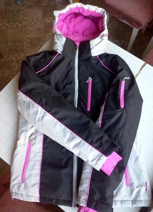 Зимняя лыжная куртка kik janina (topolino) 38 р в состоянии новой!