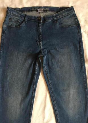 Отличные джинсы жен стреч прямые 5xl(56)2