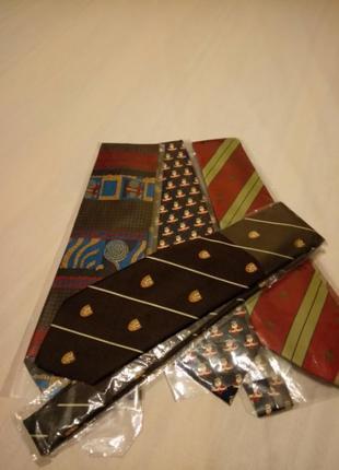 Лот итальянских галстуков