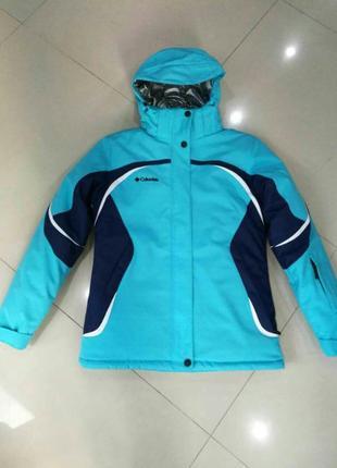 Женская горнолыжная куртка columbia omni-tech, omni-heat, s - 2xl