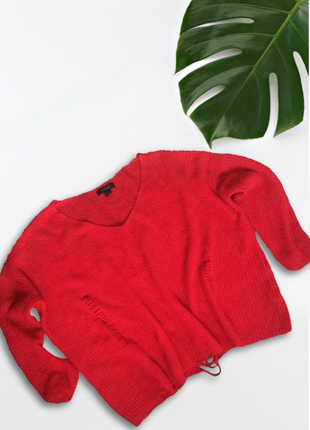 Актуальный свитер оверсайз с дырками(1+1=3)