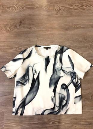Шикарная блуза футболка maje
