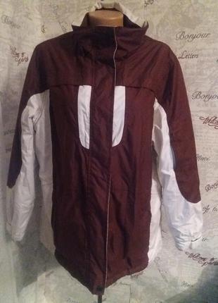 Теплая деми курточка на синтепоне 52/54 размер