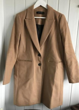 Zara классическое пальто