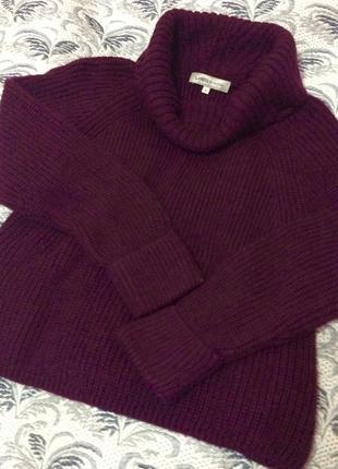 Брендовый мохеровый свитер от marks&spencer