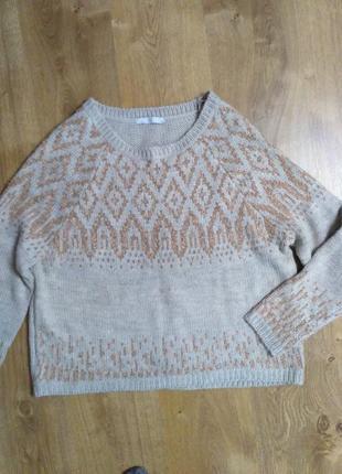 Классный свитер оверсайз tu