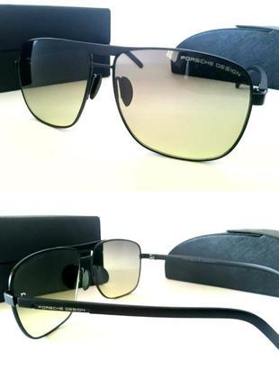 Мужские очки солнцезащитные водительские для вождения