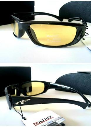 Мужские очки водительские для ночного вождения антифары