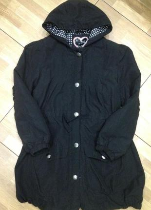 Парка куртка для девочки debenhams  на 14 лет, рост 155-164 см.