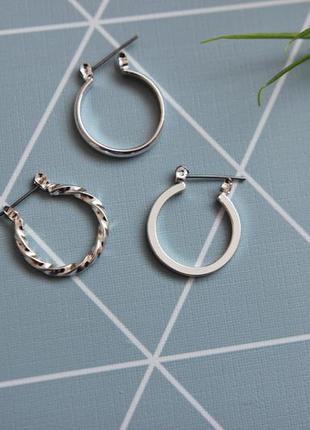 Сережки, серьги-кольца от asos